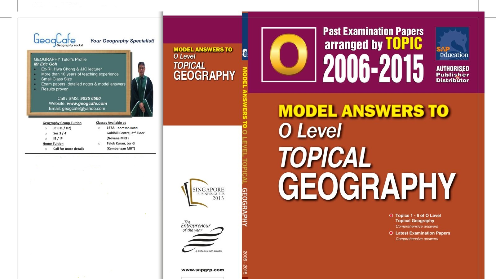 IP/IB/IGCSE Geography Tuition in Singapore